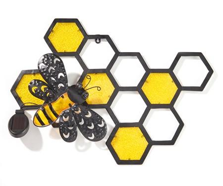 HoneycombandBeeSolarWallDeacutecor