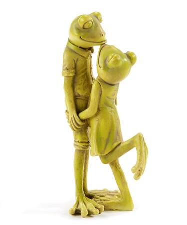 FrogCoupleFigurine