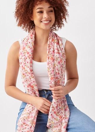 VictorianGardenDitsyFloralPrintScarf