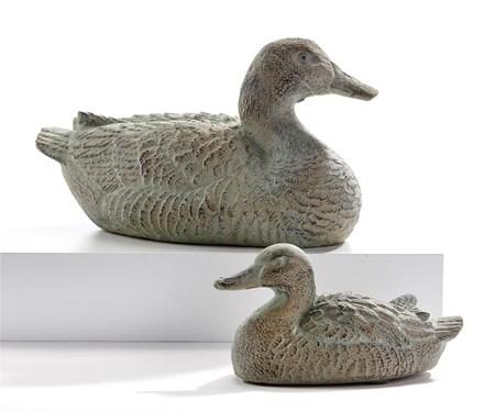 DuckFigurinesSetof2