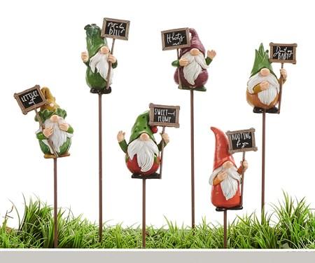 GardenGnomeSentimentPlantPick6Asst