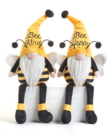 BeeWishesGnomeShelfSitter2Asst