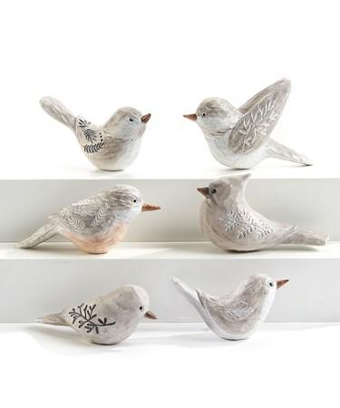 BirdFigurine6Asst