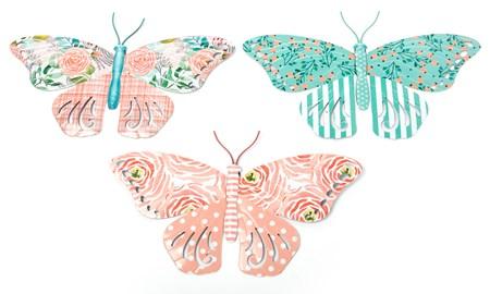 ButterflyWallDeacutecorwCutOuts3Asst