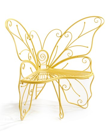 YellowButterflyBench