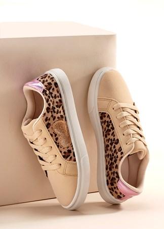 ReadySetGoCottonCanvasLeopardSneakersToddler