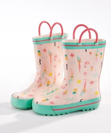ToddlerMermaidRainboots