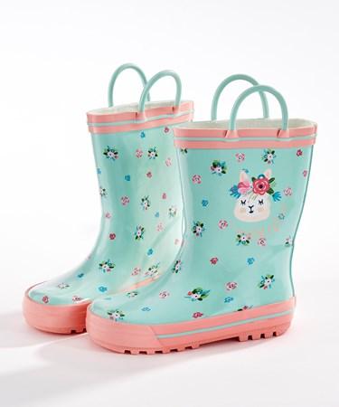 ToddlerLlamaRainboots