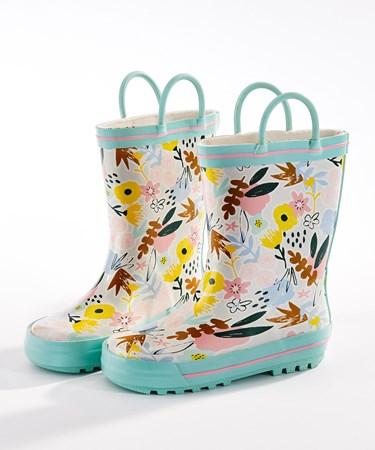 ToddlerFloralRainboots