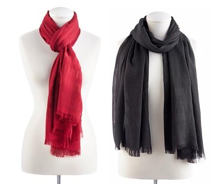 StripedZigZagScarf2Asst