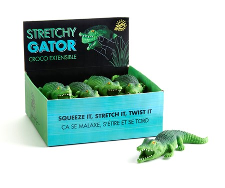StretchCrocodileStressRelieverwDisplayer
