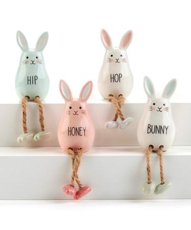BunnyShelfSitterwSentiment4Asst