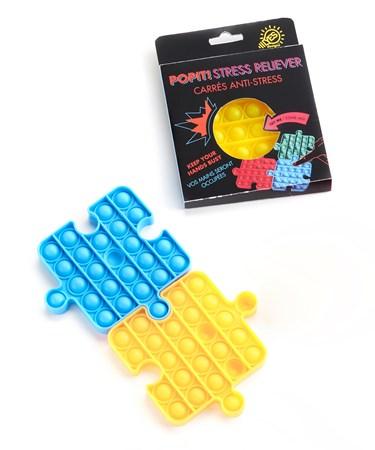 PuzzlePiecePopItStressReliever6Asst