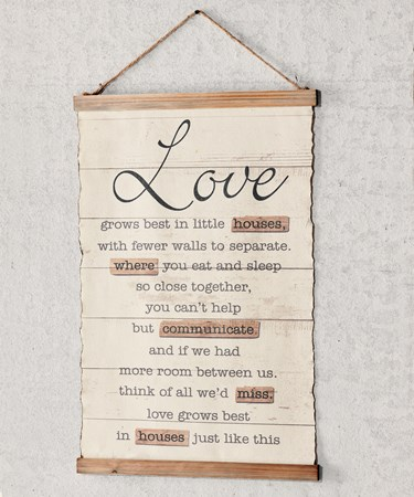 LoveSentimentWallSign