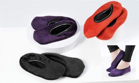 Spandex Non-Slip Slippers, 3/Asst.