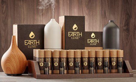 Earth Luxe Fragrance Essential Oils & Atomizer Asst. w/ Displayer