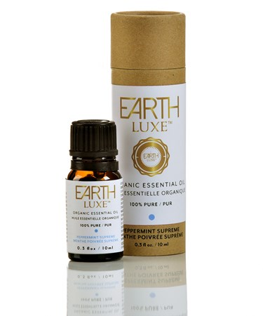 Earth Luxe Pure Organic Essential Oil, Peppermint Supreme