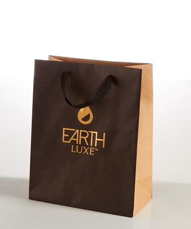 EARTH LUXE Kraft Paper Gift Bag - Small