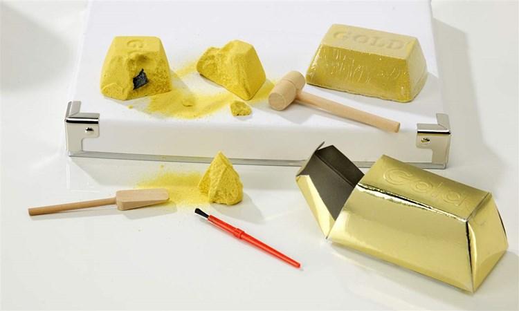 Gold Bar Dig Out Kit Asst. w/ Displayer