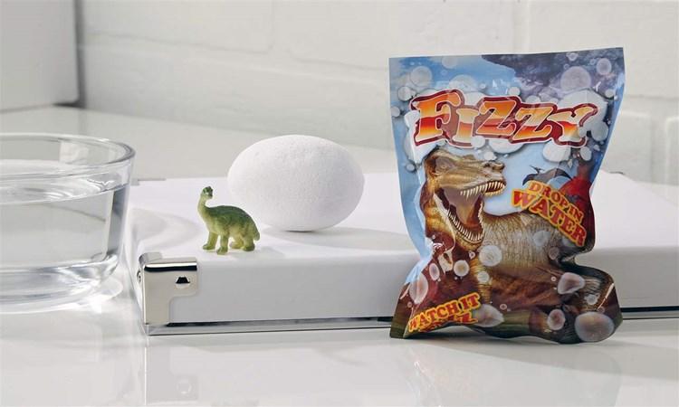 Dinosaur Fizzy Egg Asst. w/ Displayer