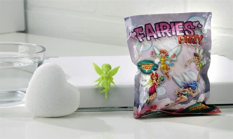 Fairy Fizzy Heart Asst. w/ Displayer