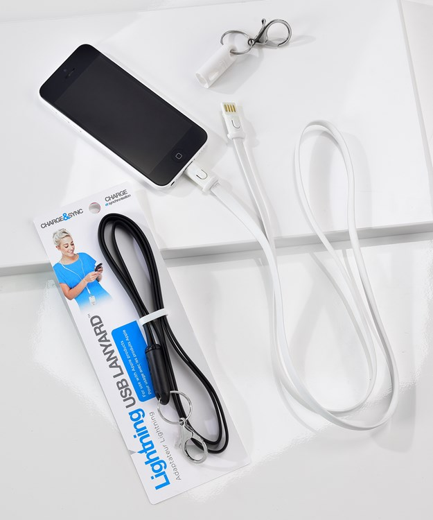 iPhone 5 Lanyard Cable Asst. w/ Displayer