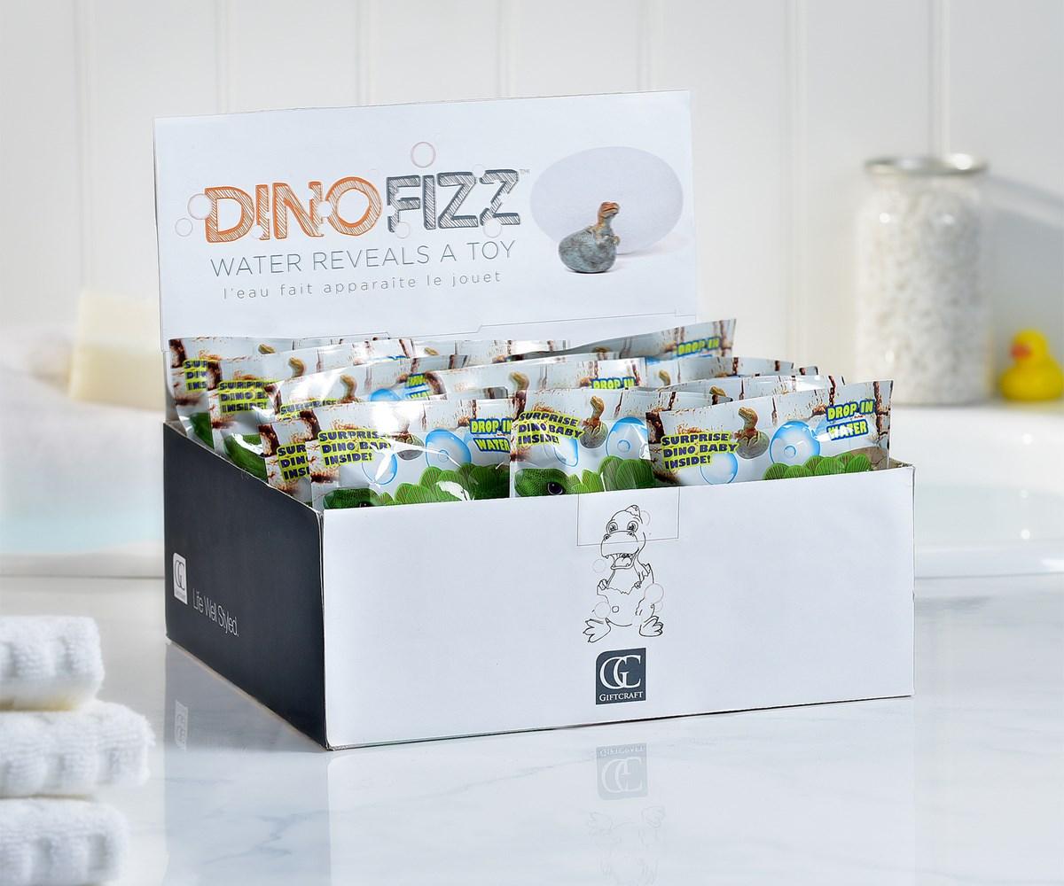 Dino Design Fizzy in Foilbag, 24 Pc/PDQ