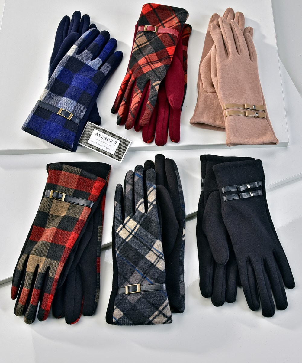 Avenue 9 Glam, Tech-Touch Gloves, 6 Asst.