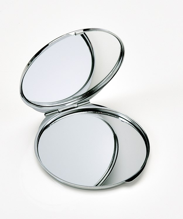 Avenue 9 Glam, Glitter Glam Design Compact Mirror, 16pc, 4/Asst. & Displayer