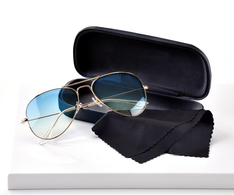 Avenue 9 Blue Lagoon, Aviator Design Sunglasses w/ Case, 3/Asst.