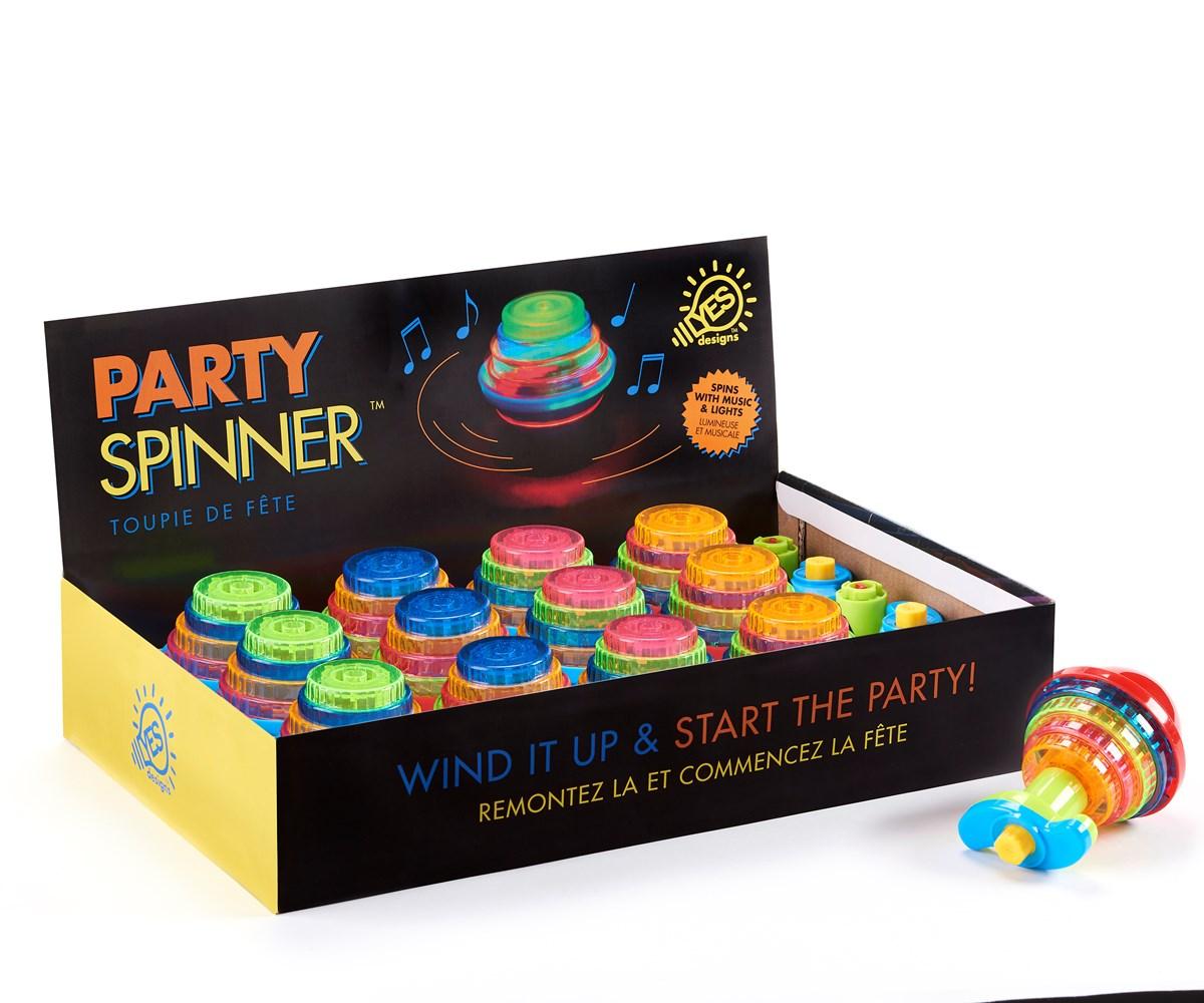 Spinning Top 4 Asst. w/ Displayer