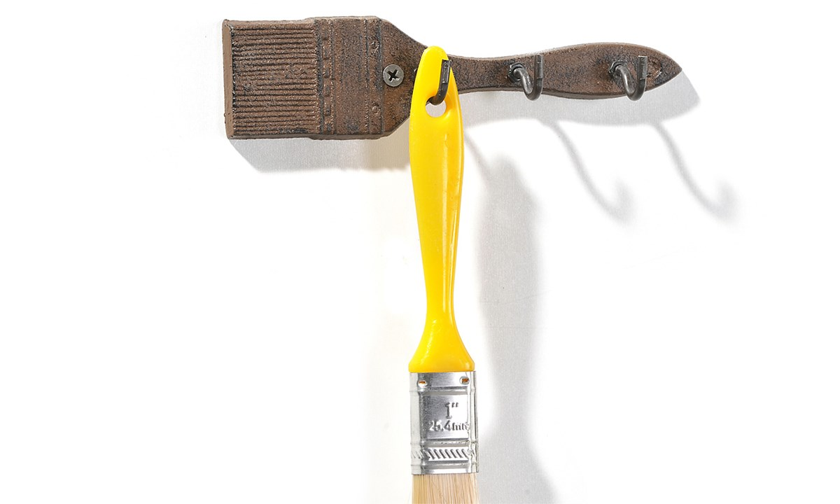 Cast Iron Tool Wall Hooks, 5 Assorted Designs