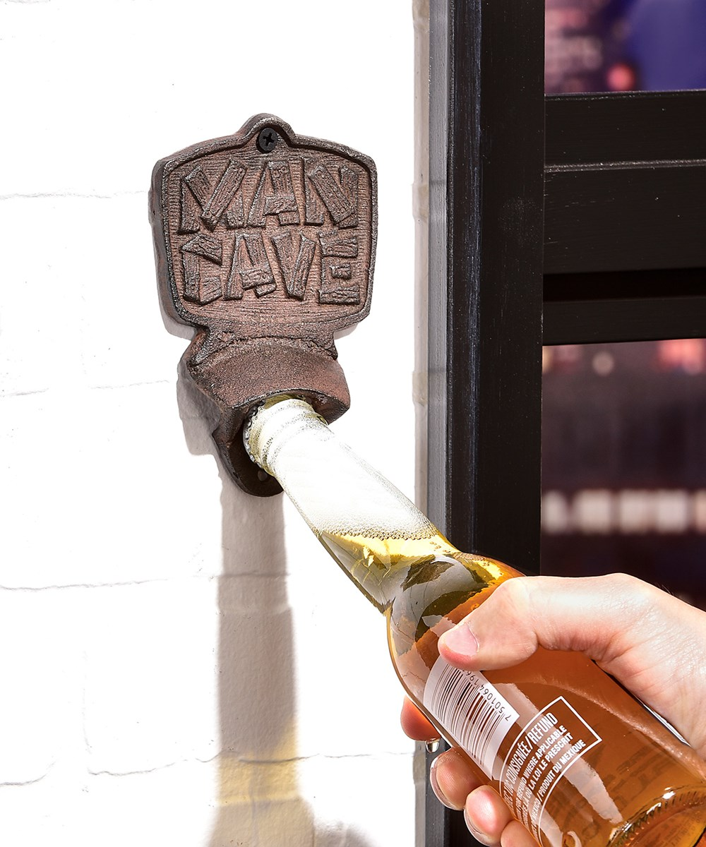 Cast Iron Wall Mount Bottle Opener, 3/Asst.