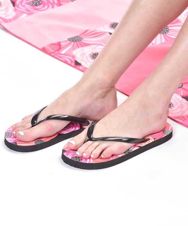 Avenue 9 Tropical Vibe, Summer Design Flip Flops, 2 Asst.