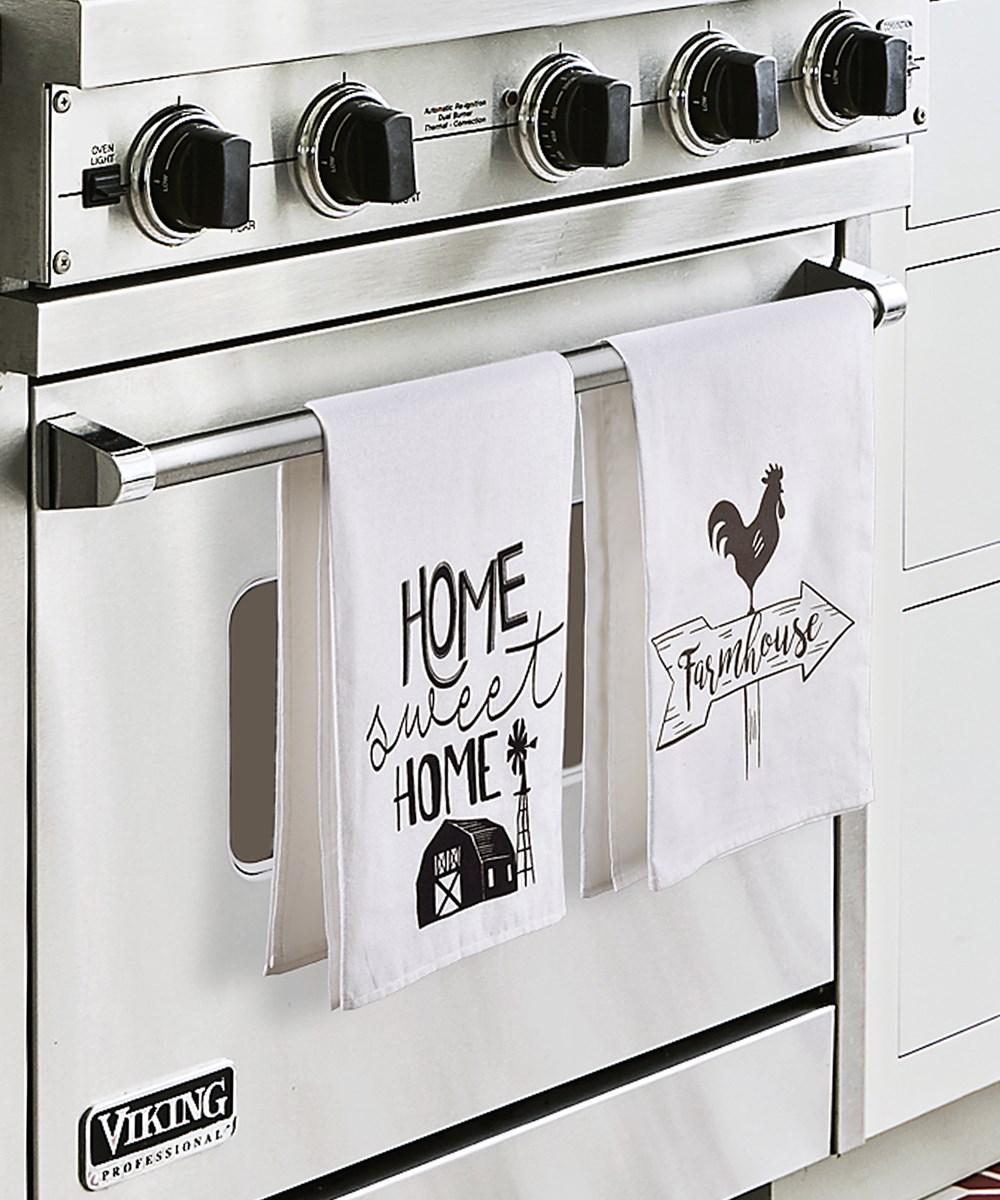 Cotton Kitchen Towel, 3/Asst.