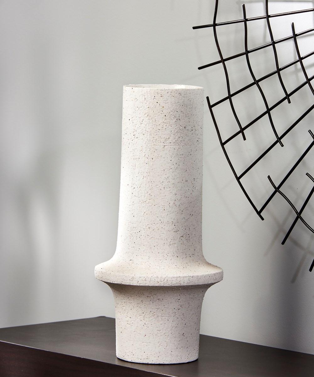 Small White Vase