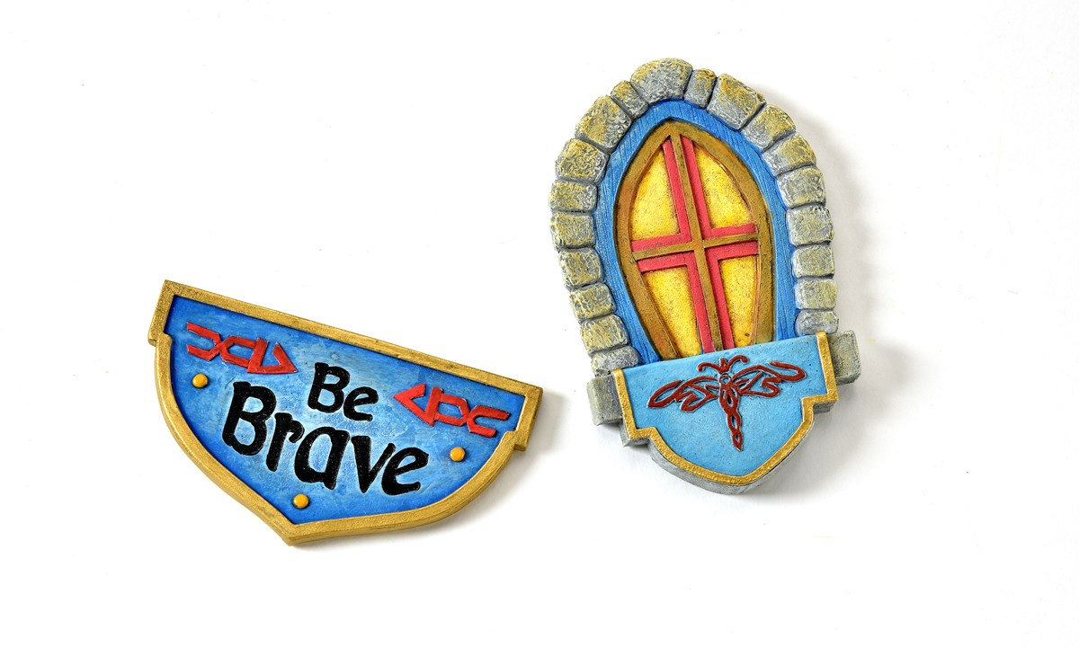 The Magical Door 2pc. Accessory Set (Bravery)