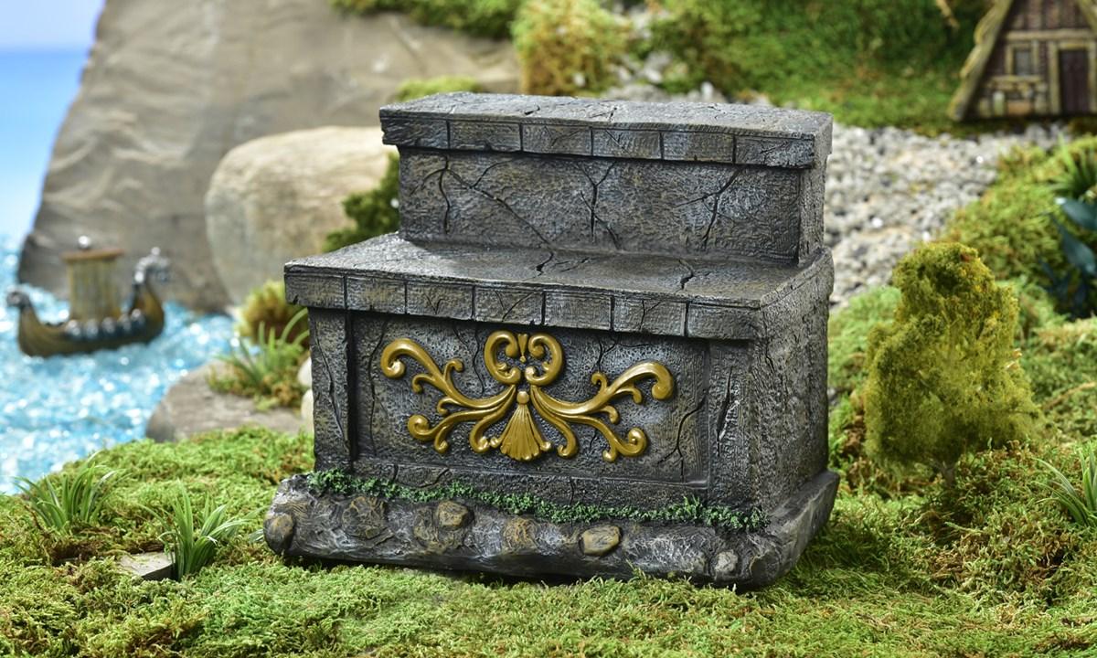 Mini World Viking Village Tree Displayer