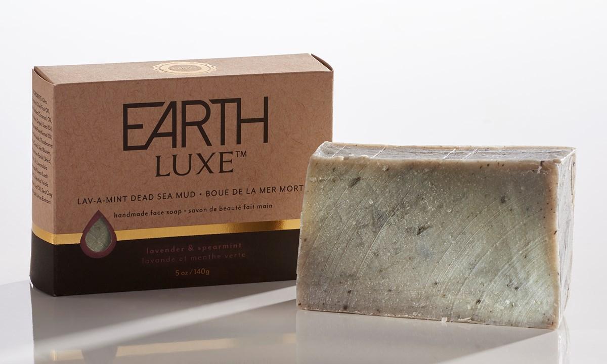 Lav-A-Mint Dead Sea Mud All Natural Facial Soap