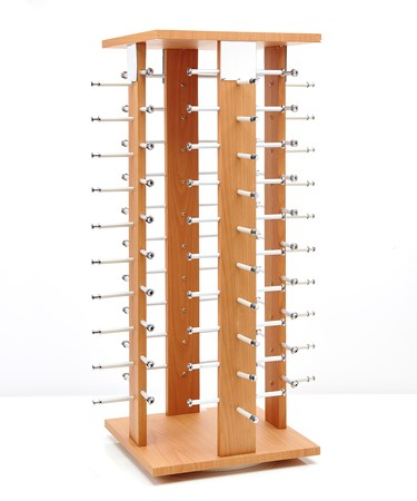 Counter Glasses Displayer - Holds 40 Pairs