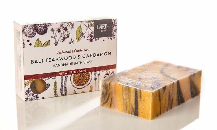 Bali Teakwood & Cardamom Nearly Natural Soap