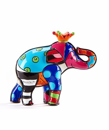 RomeroBrittoMiniature3DFigurineElephant