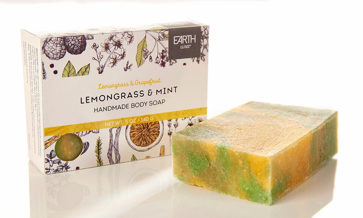 Lemongrass & Mint All Natural Soap