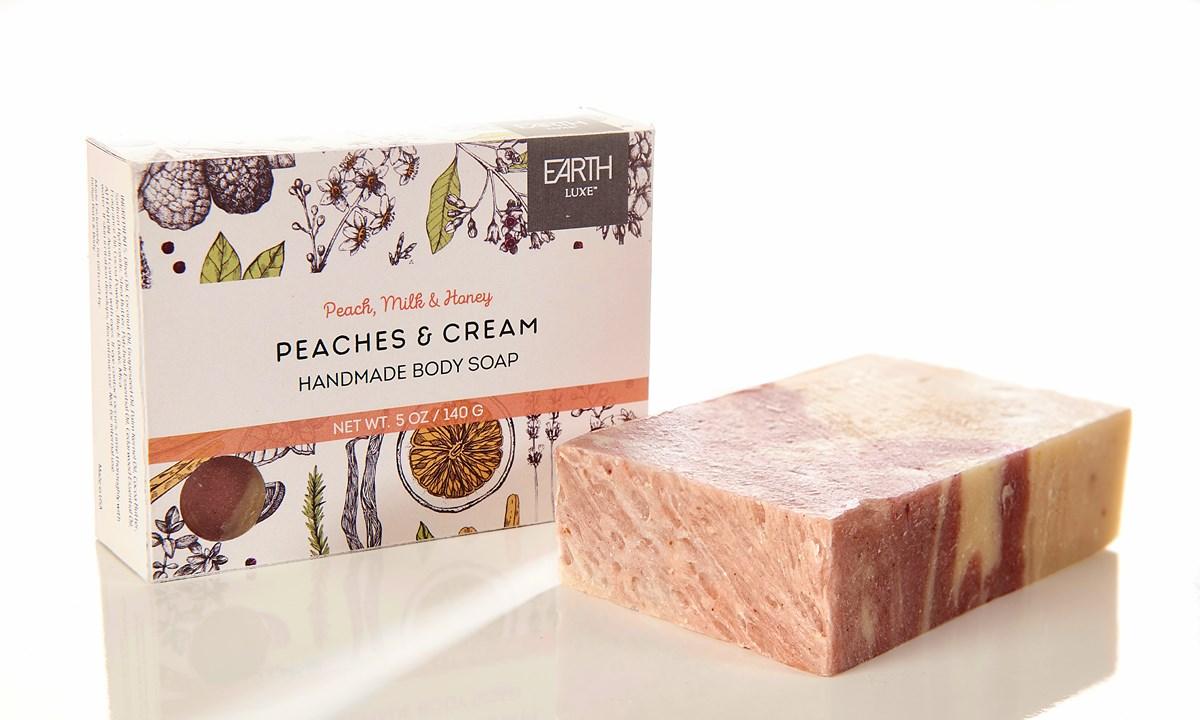 Peaches & Cream Nearly Natural Soap