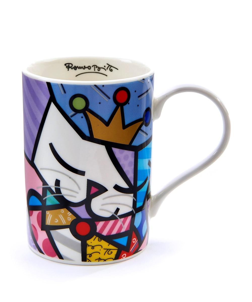 Romero Britto Cat - Sugar  Design Mug
