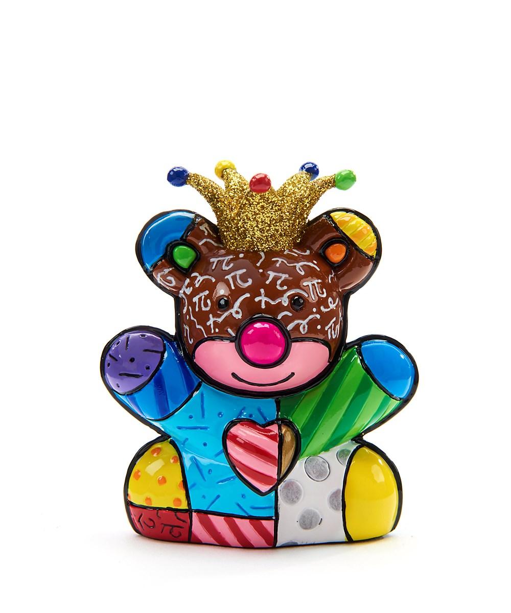 Romero Britto Miniature Happy Bear Design Figurine