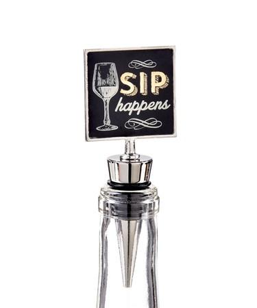 Cheers, Wine Stopper (Sip Happens)