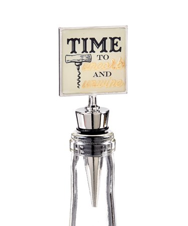 Cheers, Wine Stopper (Time to Uncork)