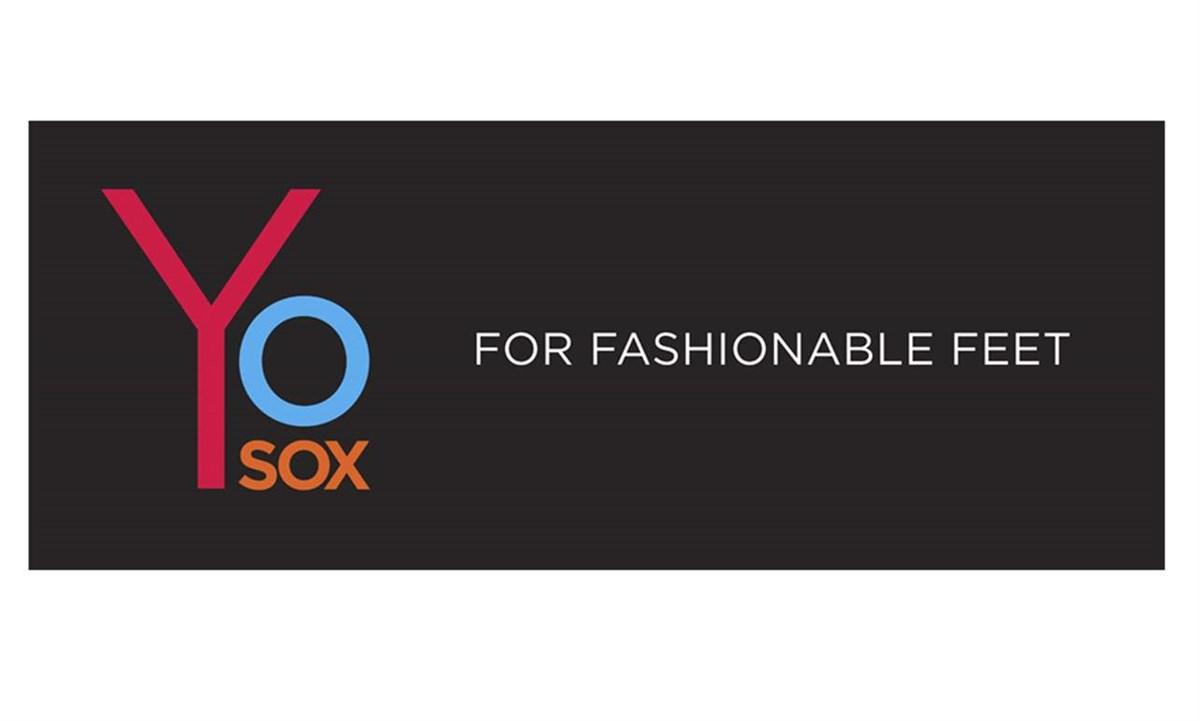 Yo Sox Logo Signage, Unisex and Men's