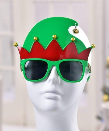 ElfHatDesignNoveltyGlasses
